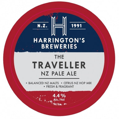 Harrington's Traveller NZ Pale Ale Beer 330mL Bottle 12 Pack