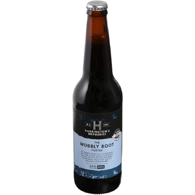Harrington's Wobbly Boot Porter Beer 500mL Bottle