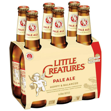 Little Creatures Pale Ale Beer 330mL Bottle 6 Pack