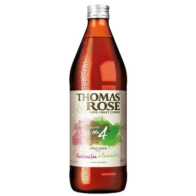 Thomas & Rose No.4 Watermelon & Cucumber Cider 500mL Bottle 6 Pack