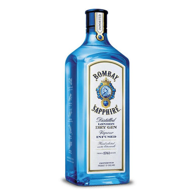 Bombay Sapphire Distilled London Dry Gin 1L Bottle