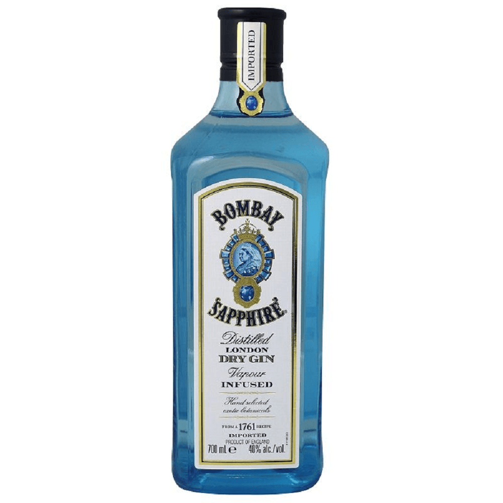 Bombay Sapphire Distilled London Dry Gin 700mL Bottle