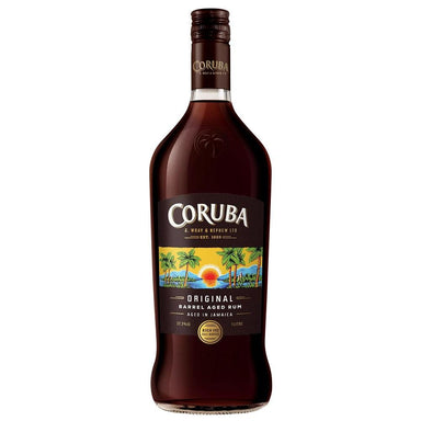CORUBA Original Barrel Aged Rum 1L Bottle