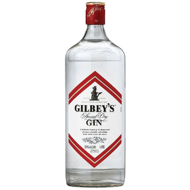 Gilbeys Special Dry Gin 1L Bottle