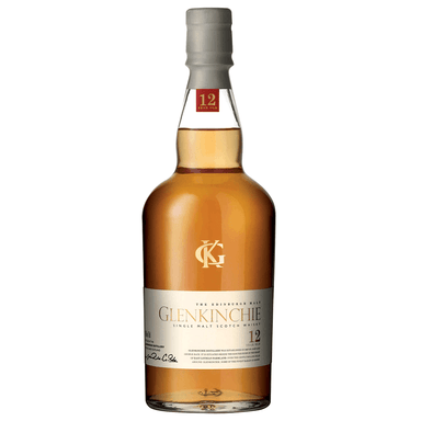 Glenkinchie 12YO Single Malt Scotch Whisky 700mL Bottle