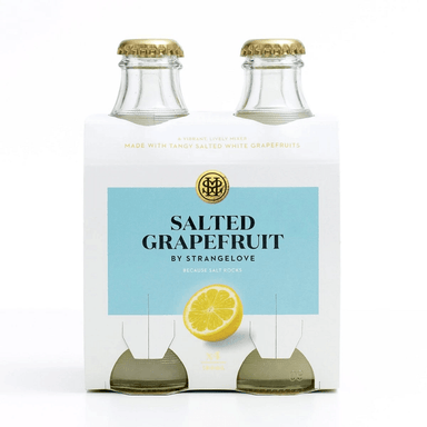 STRANGELOVE Salted White Grapefruit 180mL Bottle 4 Pack