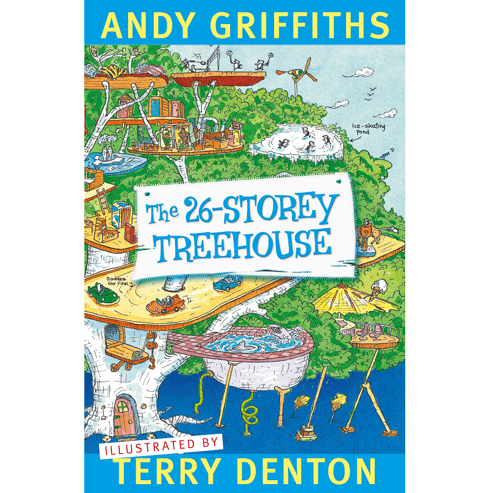 Andy Griffiths The 26-Storey Treehouse