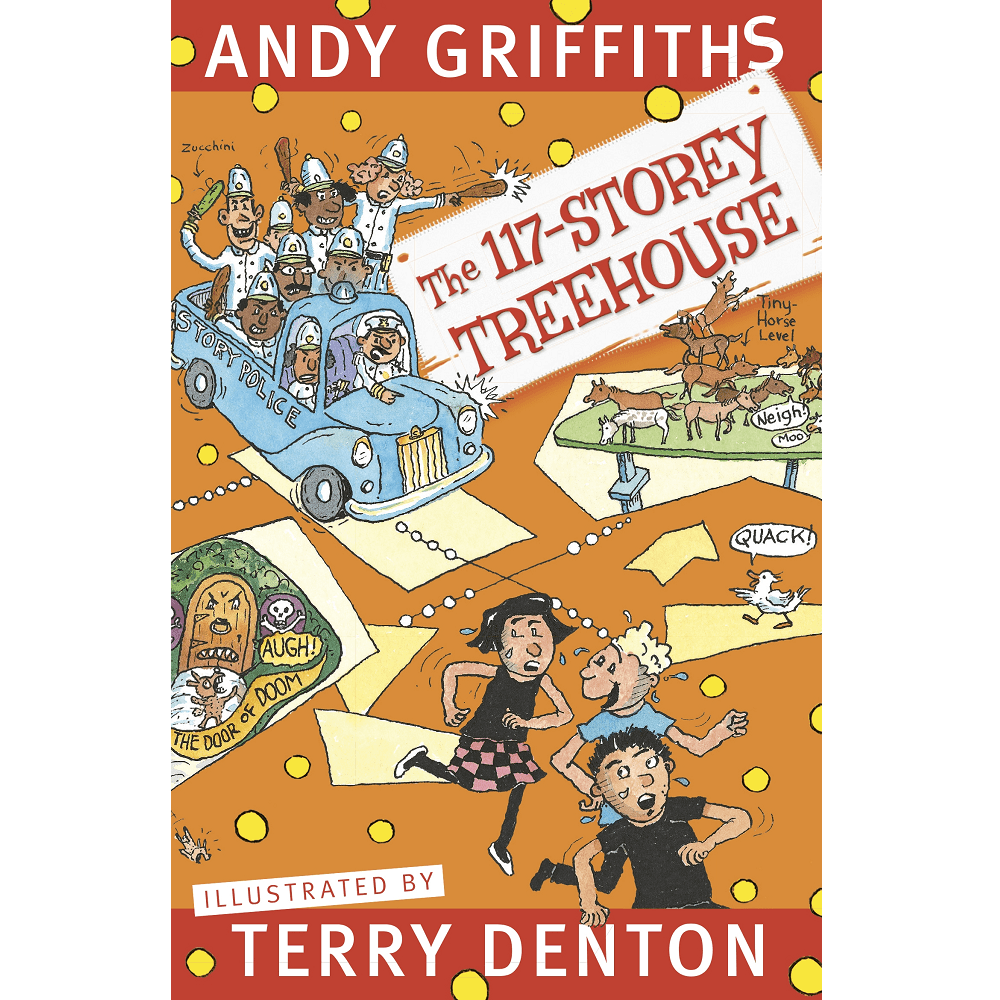Andy Griffiths The 117-Storey Treehouse