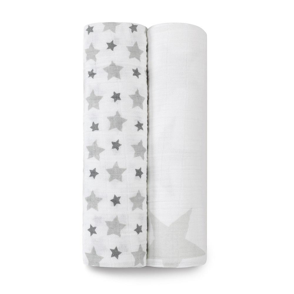 aden + anais Cotton Muslin Swaddle - Twinkle (2-Pack)