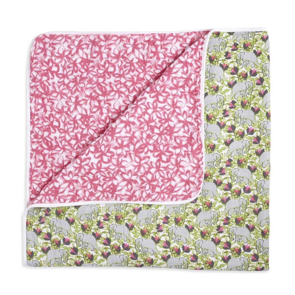 aden + anais Cotton Muslin Dream Blanket - Paradise Cove