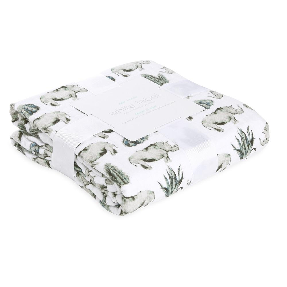 aden + anais Cotton Muslin Dream Blanket - Serengeti