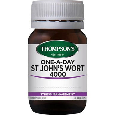 THOMPSON'S One-a-Day St John's Wort 4000 Tablets 30's
