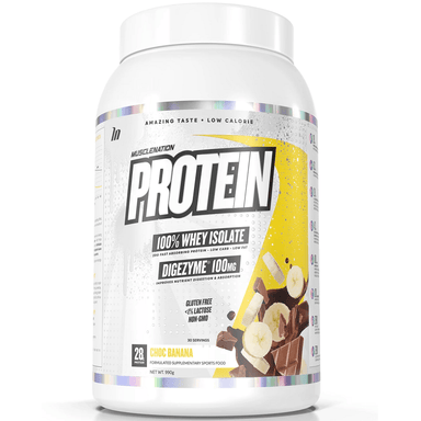 Muscle Nation PROTEIN 100% Whey Isolate 858g - Choc Banana