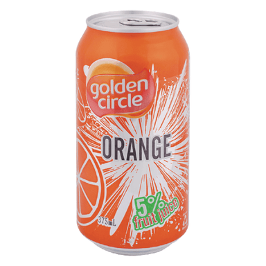 Golden Circle Orange Fruit Juice 375mL Can (24-Pack)