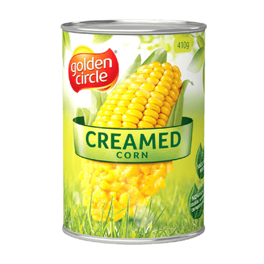 Golden Circle Creamed Corn 410g (12-Pack)