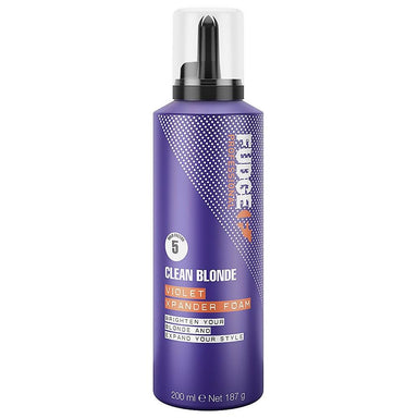 FUDGE Professional Clean Blonde Violet Xpander Foam 200mL