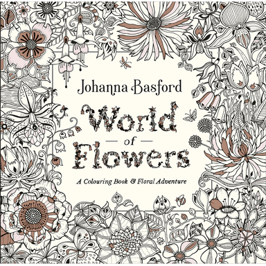 Johanna Basford World of Flowers