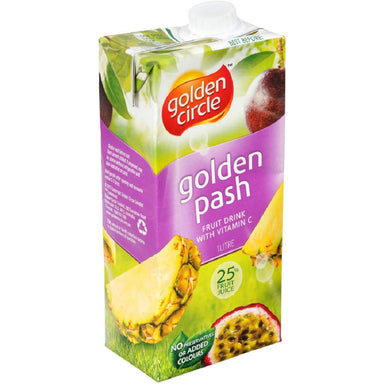 Golden Circle Golden Pash Fruit Drink 1L 12-Pack