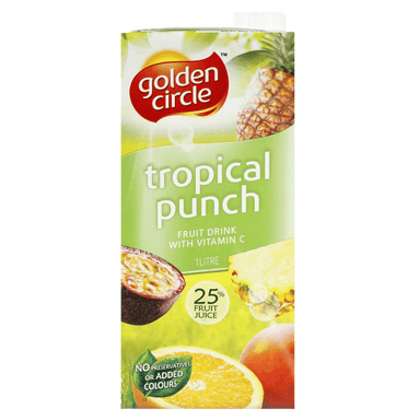 Golden Circle Tropical Punch Fruit Drink 1L 12-Pack