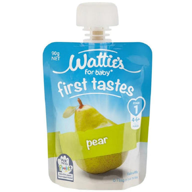 Wattie's for Baby Stage 1 First Tastes Pear 90g 6-Pack