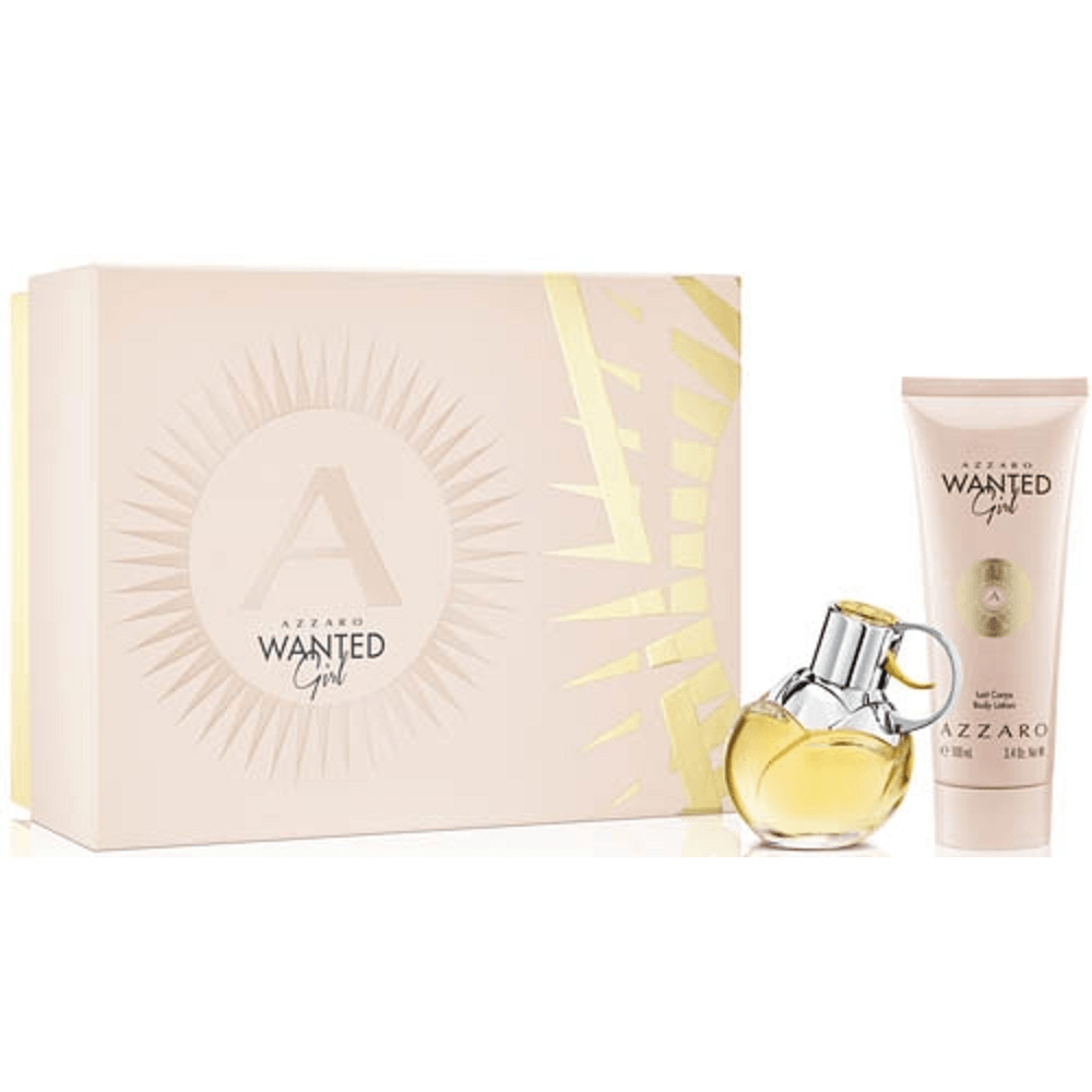 Azzaro Wanted Girl EDP 50mL + Body Lotion 100mL Gift Set