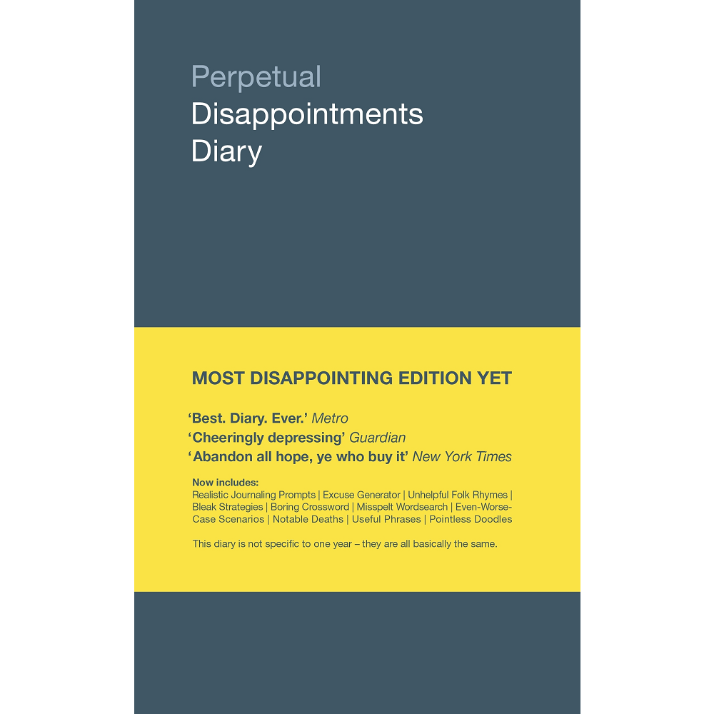 Nick Asbury Perpetual Disappointments Diary