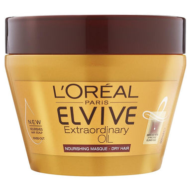 L'Oreal Paris ELVIVE Extraordinary Oil Nourishing Masque 300mL