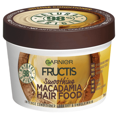 Garnier FRUCTIS Hair Food Smoothing Macadamia 390mL