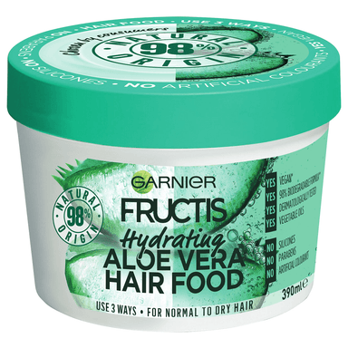 Garnier FRUCTIS Hair Food Hydrating Aloe Vera 390mL