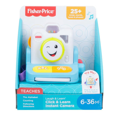 Fisher-Price Click & Learn Instant Camera
