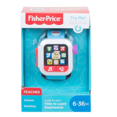 Fisher-Price Time to Learn Smart Watch
