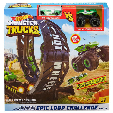 Hot Wheels Monster Trucks Epic Loop Challenge Play Set