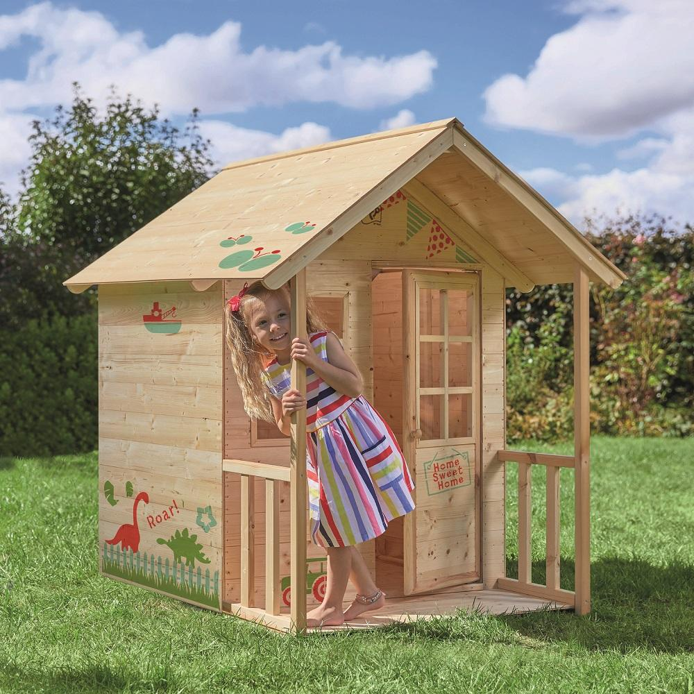 TP Hedgerow Wooden Playhouse
