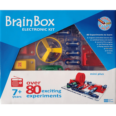 BrainBox Mini Plus Electronic Kit with FM Radio