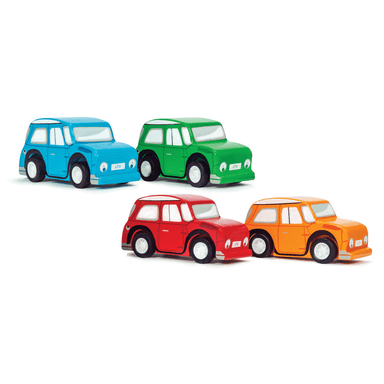 Le Toy Van Whizzy Pull Back Cars (Assorted)