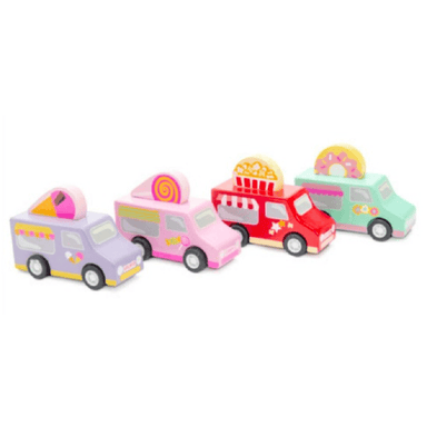 Le Toy Van Sweets & Treats Pull Backs (Assorted)