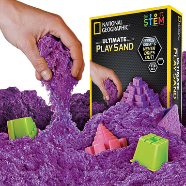 National Geographic Ultimate Play Sand Purple
