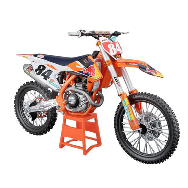 Maisto 1:6 Die-Cast Metal Red Bull KTM Supercross Bike