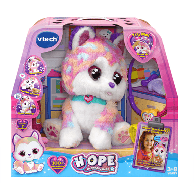 vtech Hope the Rainbow Husky