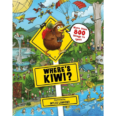 Myles Lawford Where's Kiwi? Jigsaw Puzzle & Book