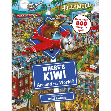 Myles Lawford Where's Kiwi? Around the World