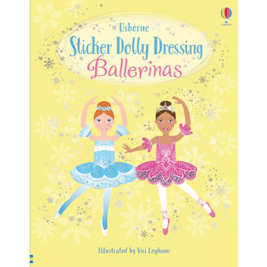Fiona Watt Sticker Dolly Dressing: Ballerinas