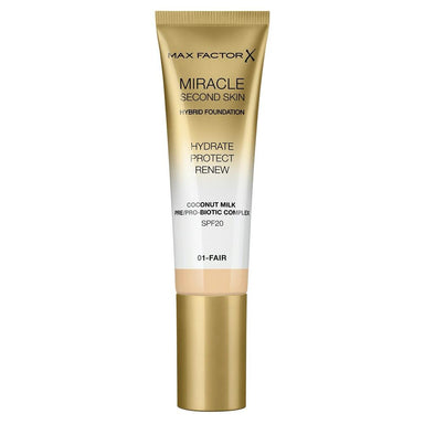 Max Factor Miracle Second Skin Foundation #01 Fair