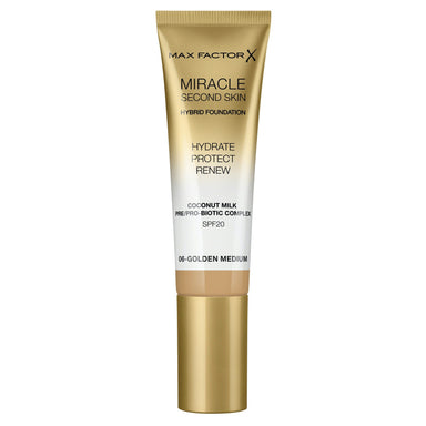 Max Factor Miracle Second Skin Foundation #06 Golden Medium