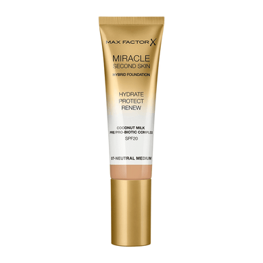 Max Factor Miracle Second Skin Foundation #07 Neutral Medium