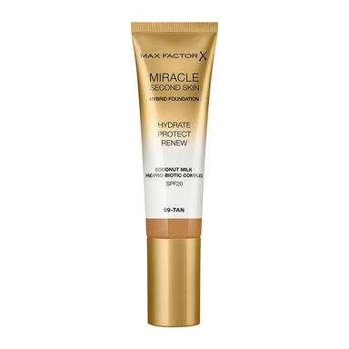 Max Factor Miracle Second Skin Foundation #09 Tan