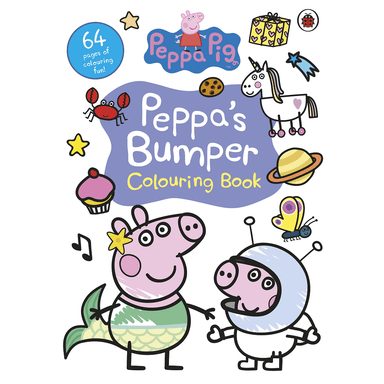 Peppa Pig Peppa's Bumper Colouring Book