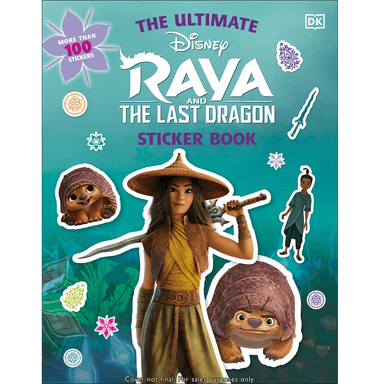 DK Raya and the Last Dragon Ultimate Sticker Book