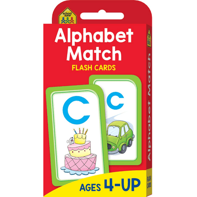 School Zone Flash Cards: Alphabet Match