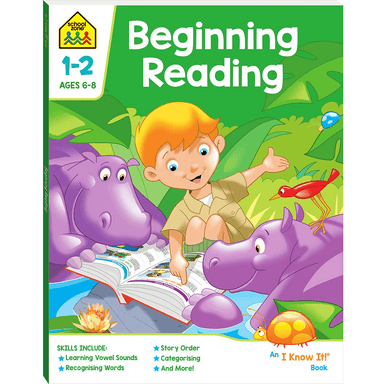 School Zone I Know It: Beginning Reading